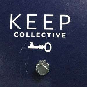 KEEP Collective Charm - Paw Silver